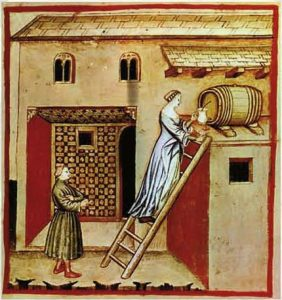 Balsamic vinegar in the Middle Ages