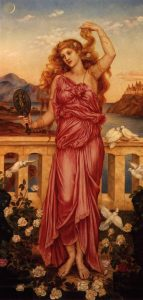 Helen of Troy, Evelyn de Morgan (1898)