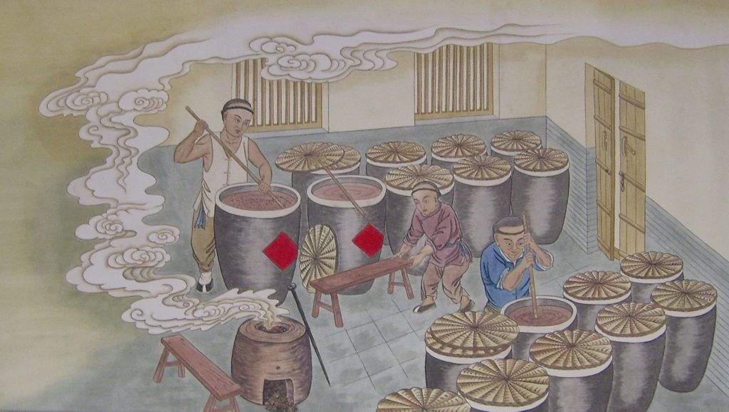 Vinegar brewing in Ancient China